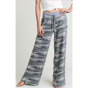 Camo Drawstring Lounge Pants